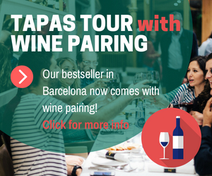 Tapas tour and wine pairing Barcelona