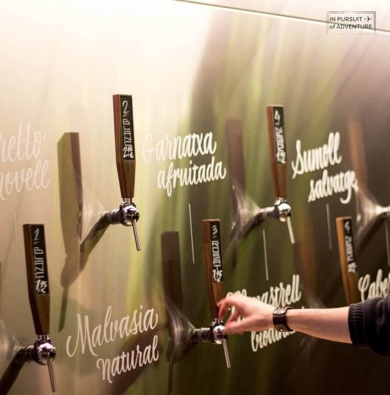 Spanish wine tap