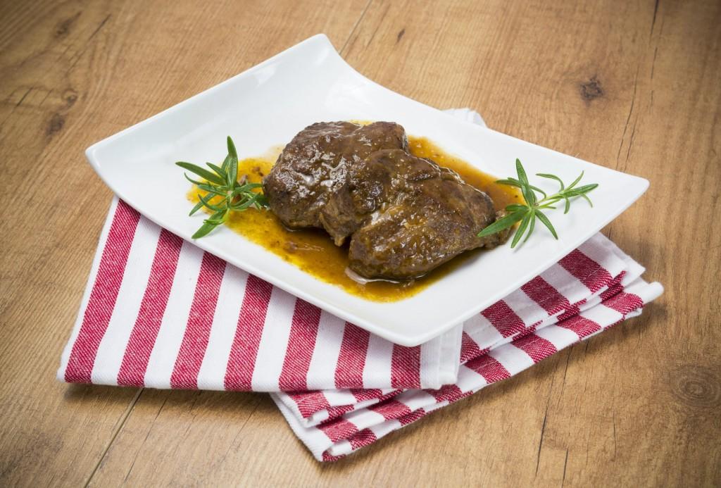 Amazing Tapas in Seville - Carrillada or carrillera iberica (braised pork cheek)