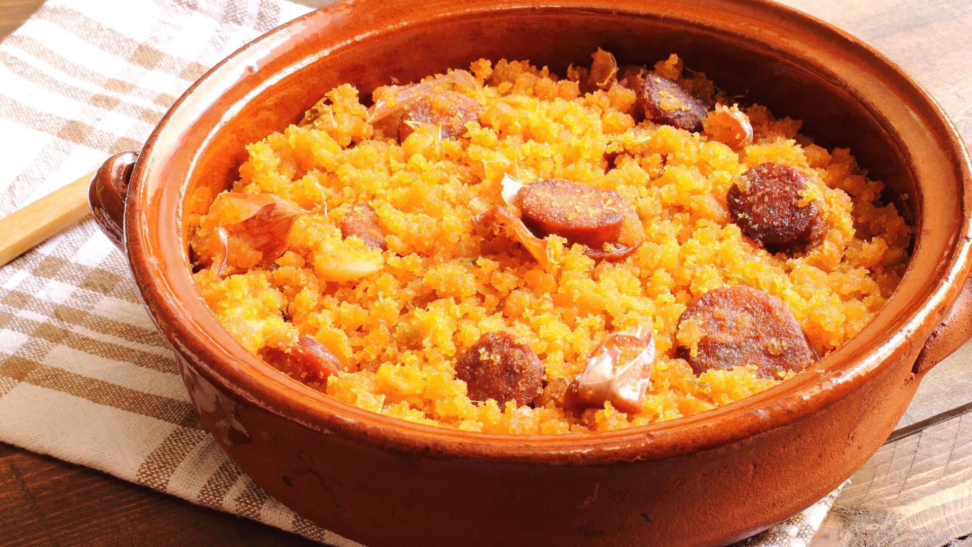 Amazing Tapas in Seville - Migas del pastor (Shepherd's breadcrumbs)