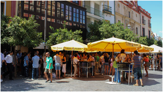 La Antigua Bodeguita - the freshest beer with the best atmosphere in Seville