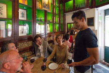 Learn about and taste local wine on a Petiscos Lisboa food tour