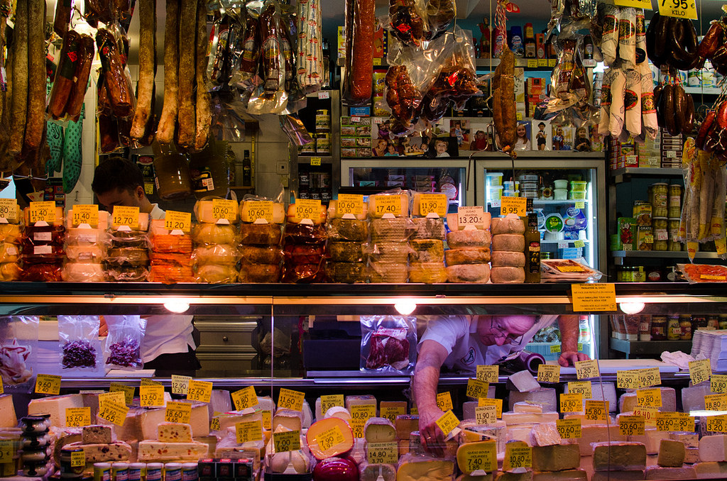 The most famous market in Seville, Mercado de Triana