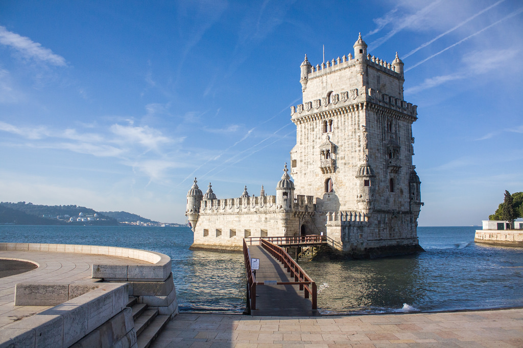 The Torre Belem one of the many things to do in Lisbon!