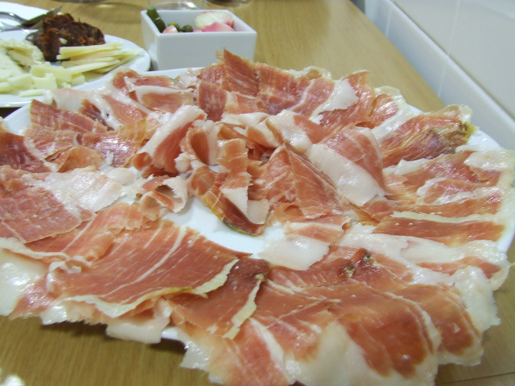 Jamón de Trevélez is considered to be one of the best foods in Granada!