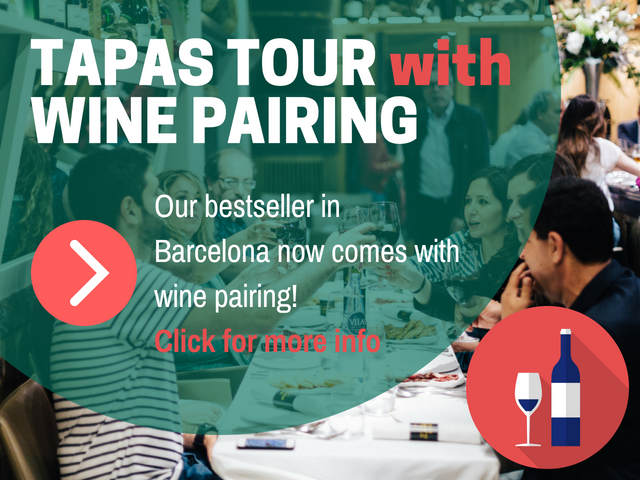 TAPAS WITH WINE PAIRING BCN POP UP