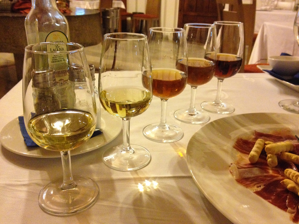 Sherry is one of the most famous Andalusian wines