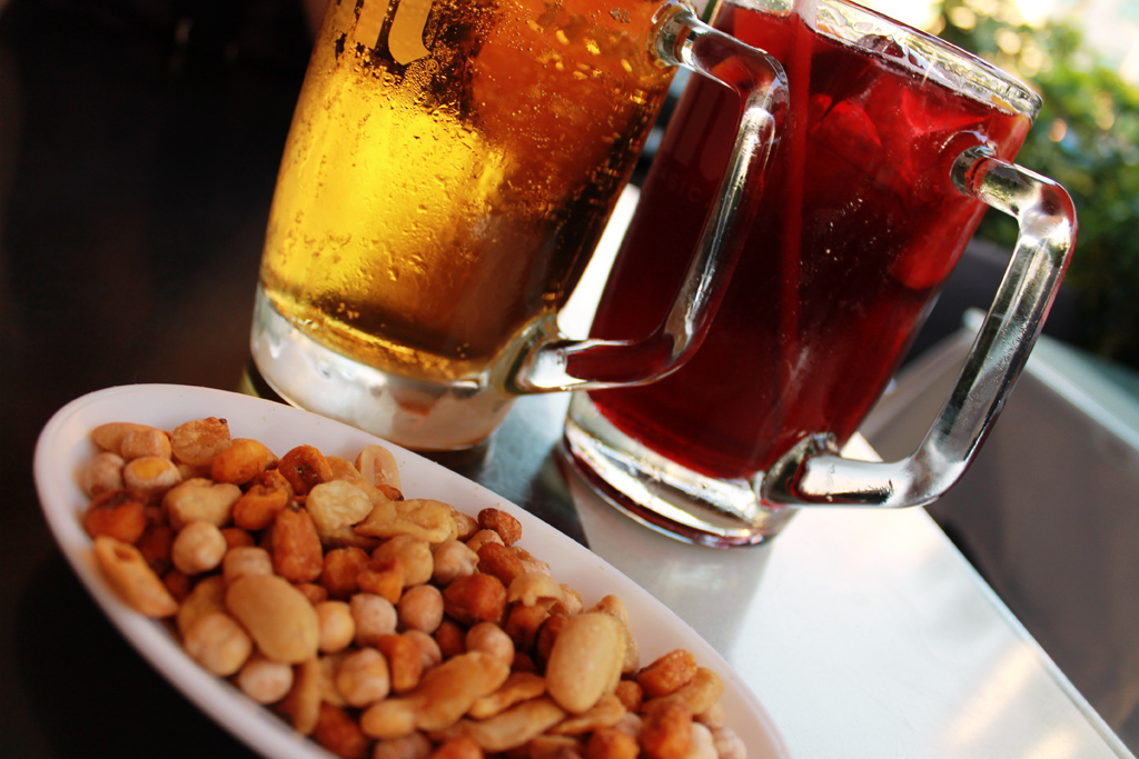 Eating in Barcelona is always accompanied by a great drink!