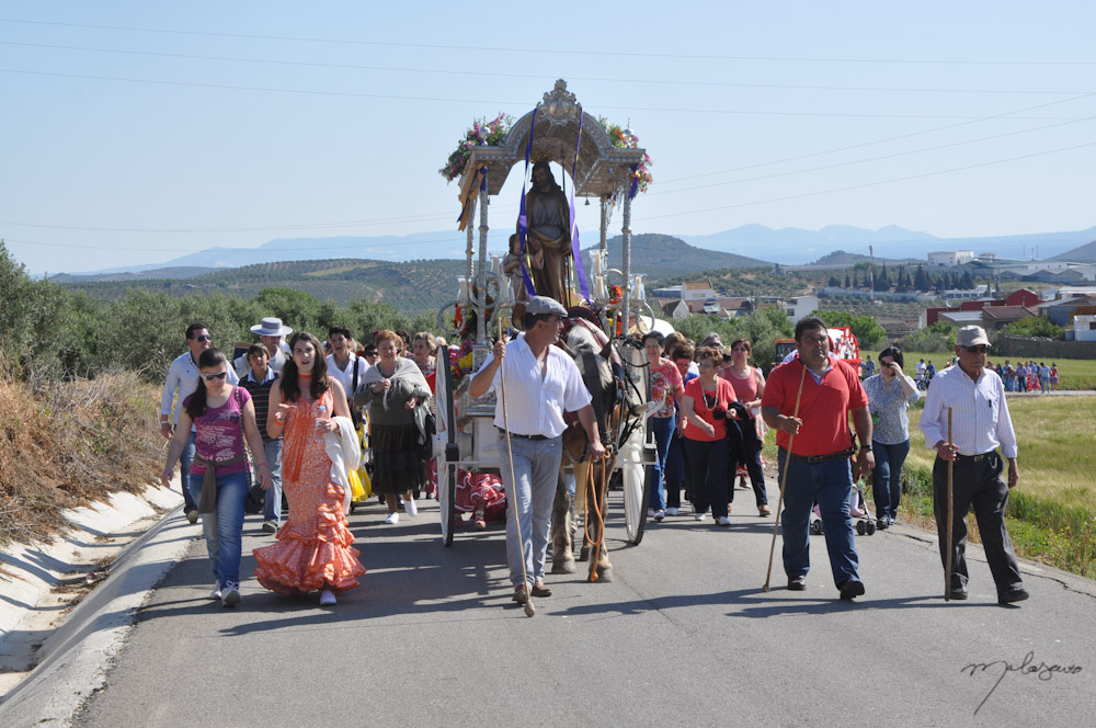 A traditional romeria is a special and unique thing to do in Seville!