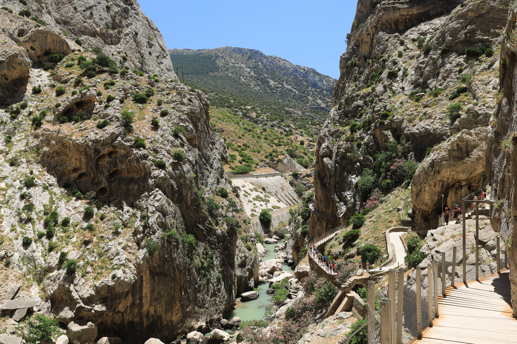 Hiking the Caminito del Rey is one of most active day trips from Malaga you can try!