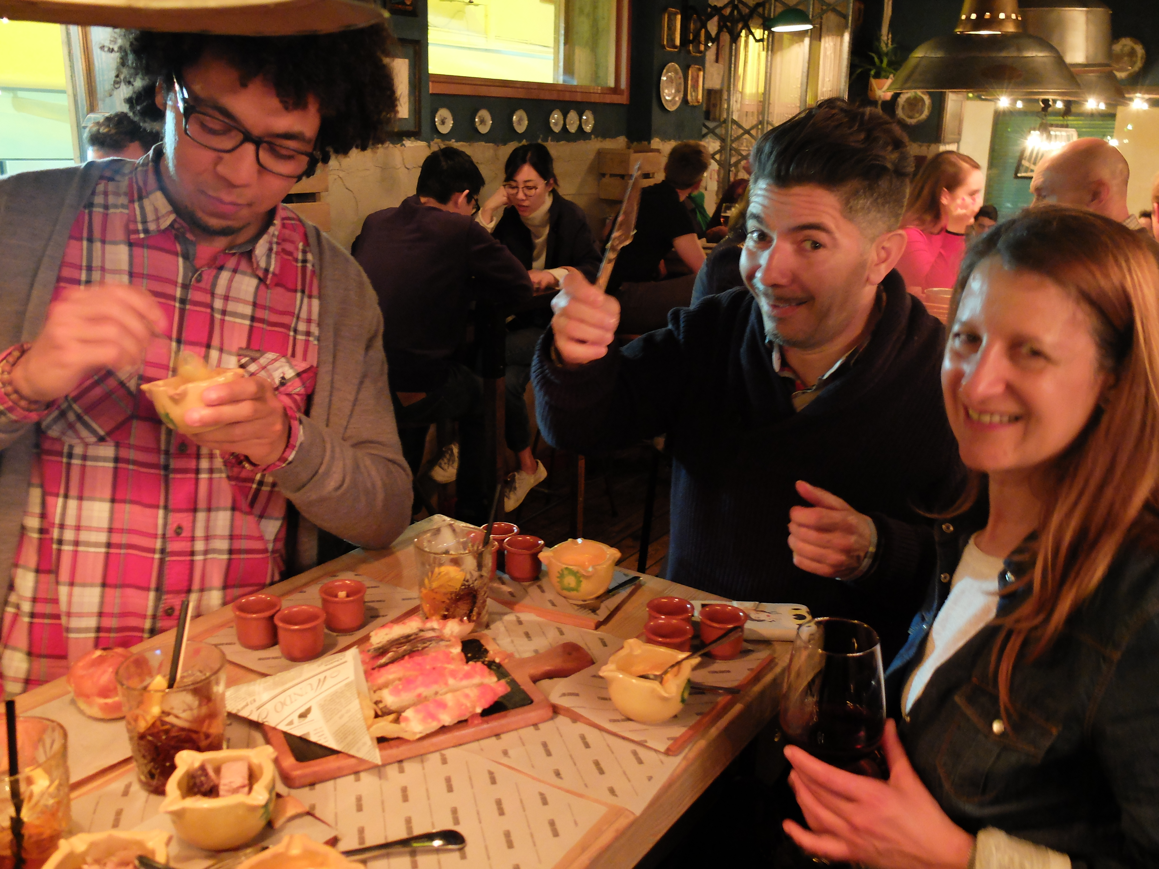 We love to have fun and explore cuisine on our food tours!
