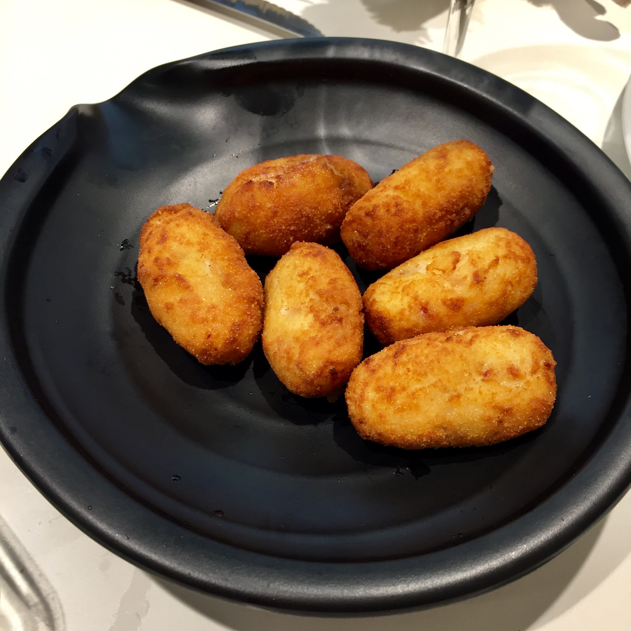 Spanish croquettes are one of the Spain's most popular tapas