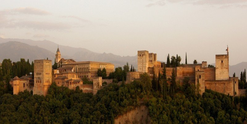 The Alhambra of Granada is a majestic sight to behold!