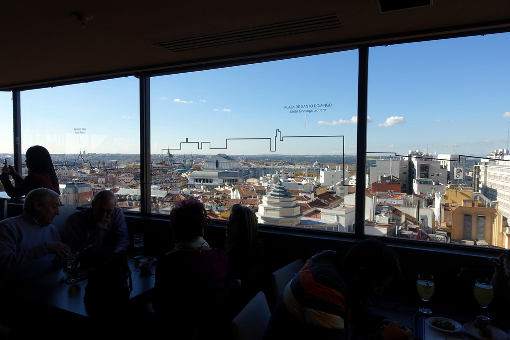 Go to the Gourmet Experience not only for delicious food, but for unbeatable views, too!