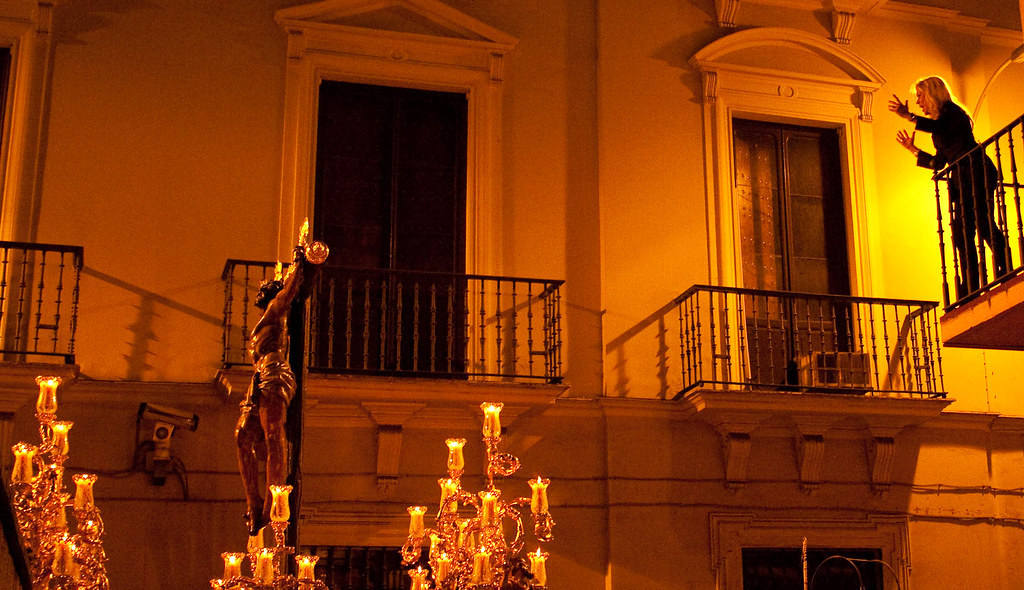 The saeta is a highlight of any procession during Holy Week in Seville!
