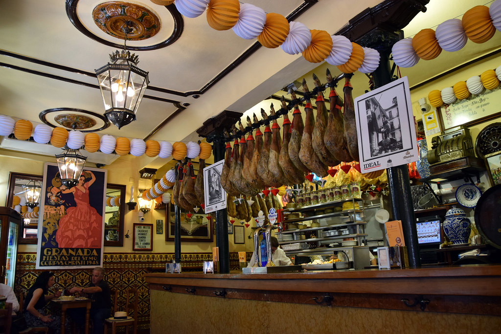 Bodegas Castañeda is a local legend for free tapas in Granada