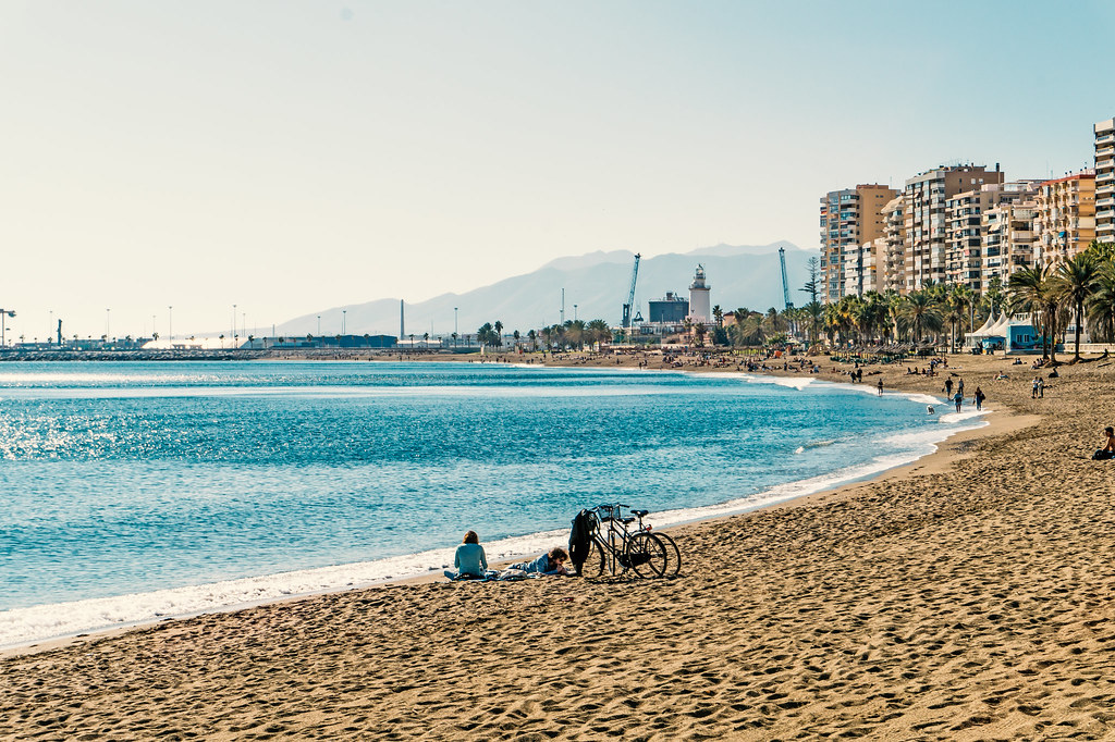 La Malagueta is among the best beaches in Malaga