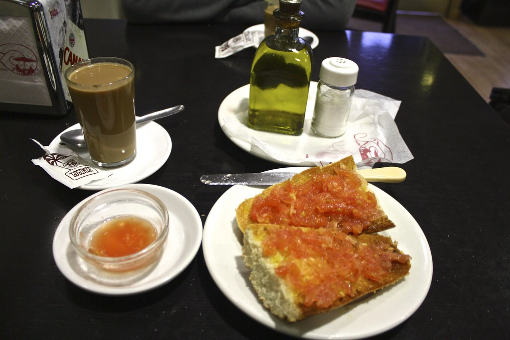 Breakfast in Seville is the most important meal of the day!