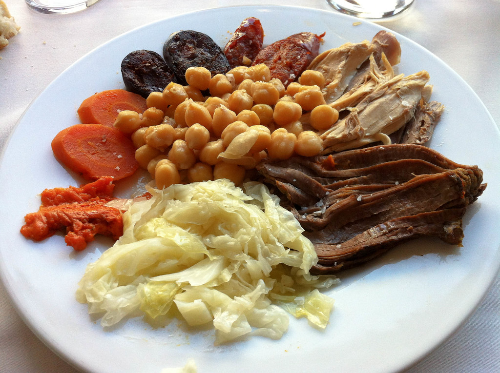 Cocido madrileño is a Madrid must-eat!