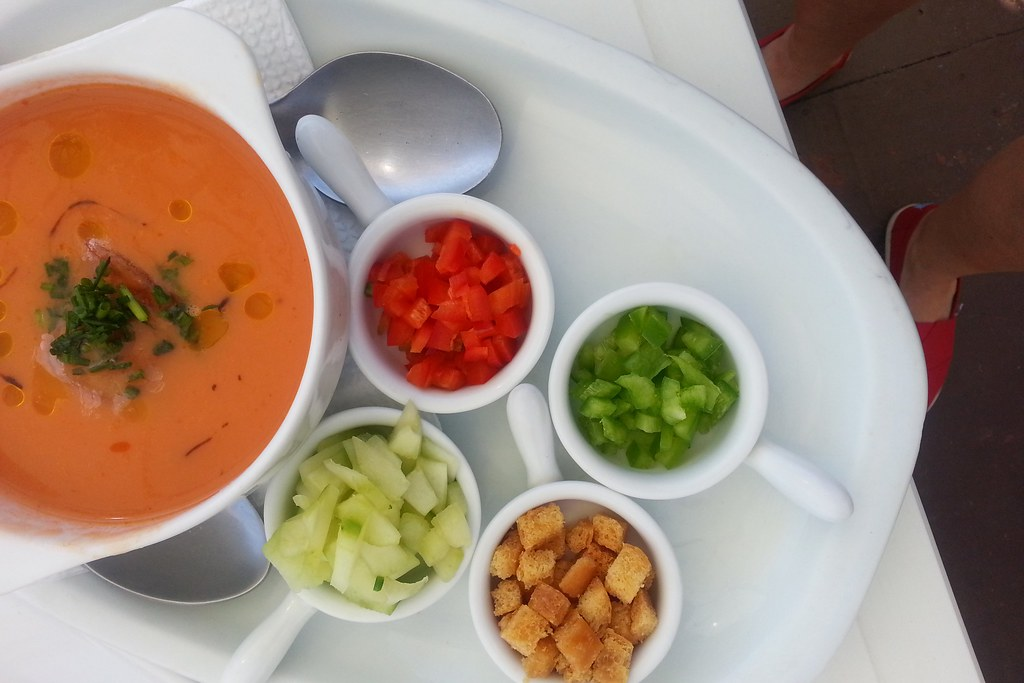 If you love cold tapas, you'll love gazpacho!