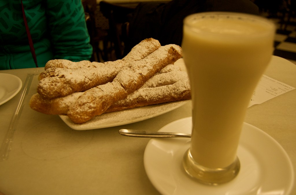 Pastries in Spain are just the best!