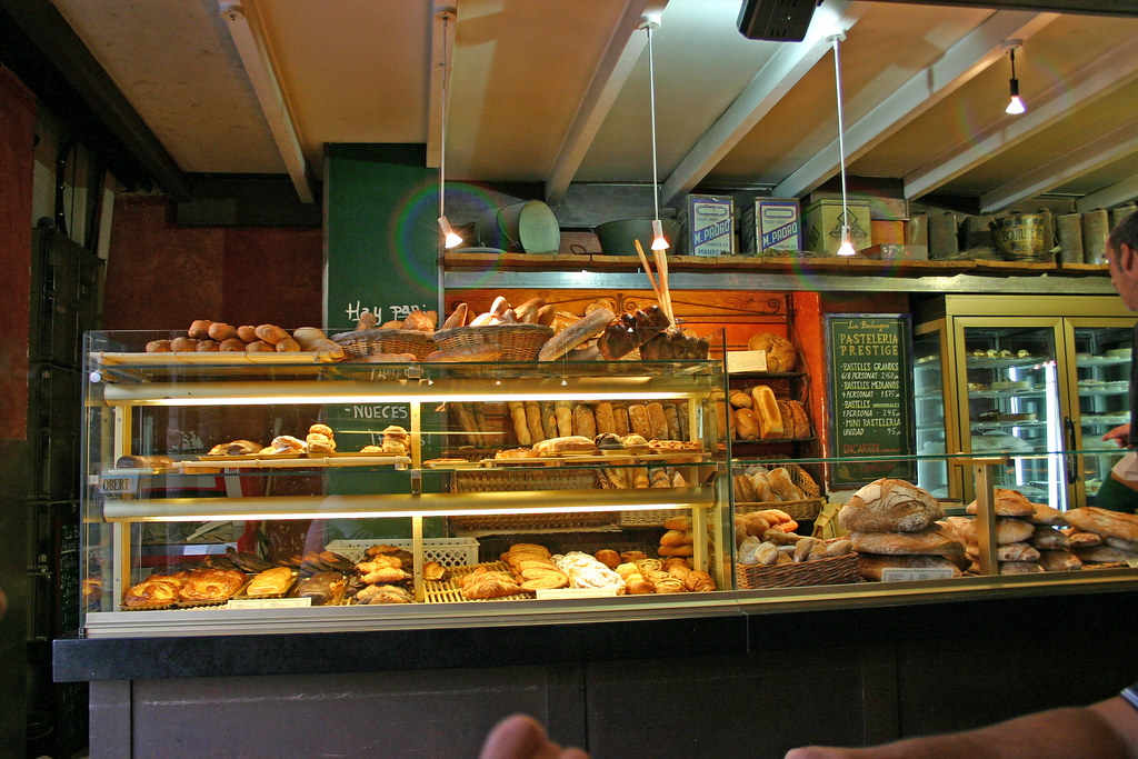 The local bakery is the best place to get desserts in Granada!