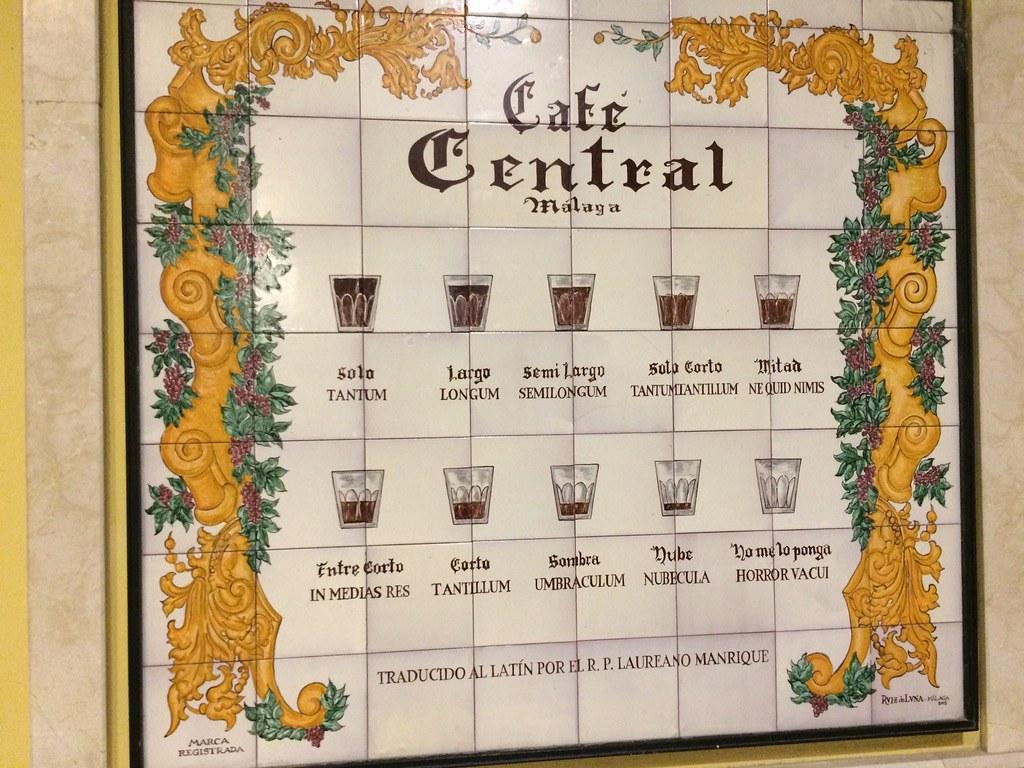 Café Central is a staple for breakfast in Málaga!