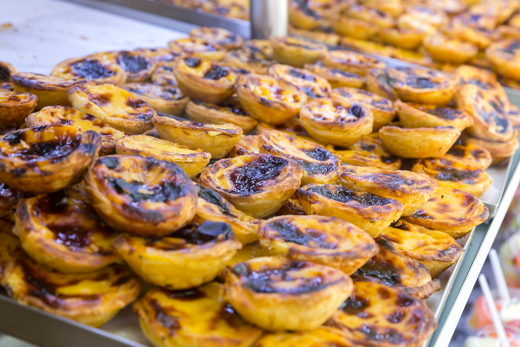 A pastel de nata is a great traditional Portuguese breakfast!