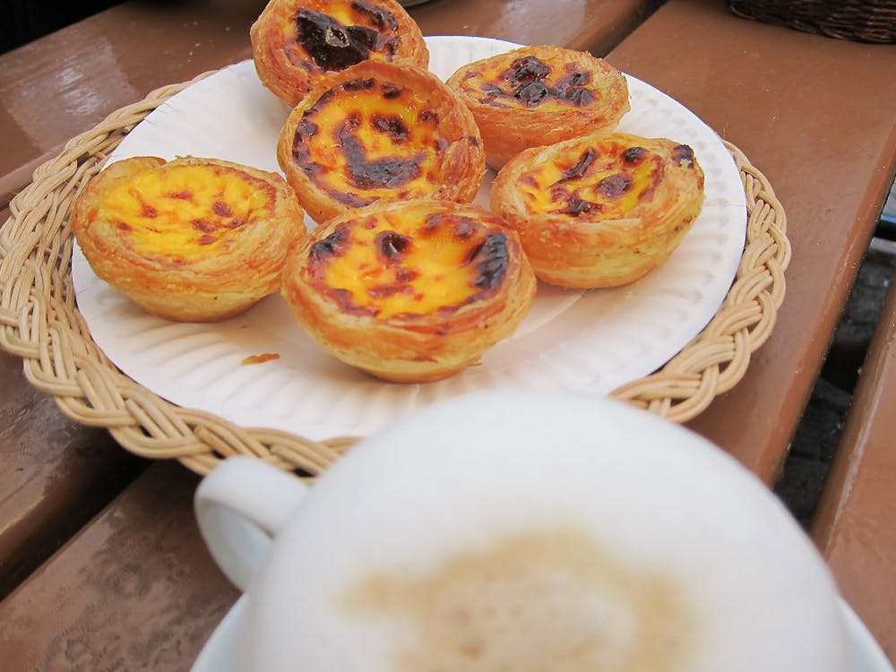 Why have one pastéis de nata in Lisbon when you can have more?