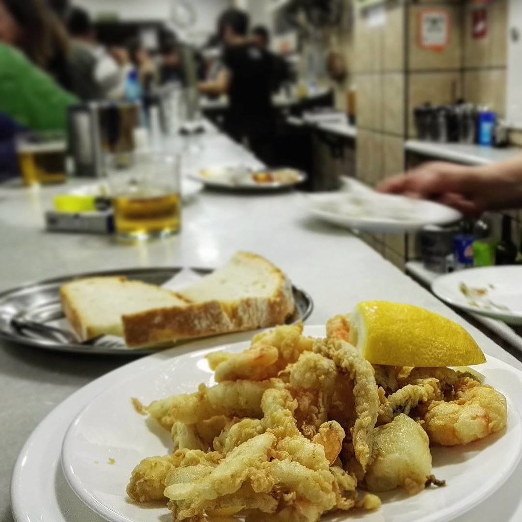 With just one bite you'll find out why Los diamantes is one of the best tapas bars in Granada