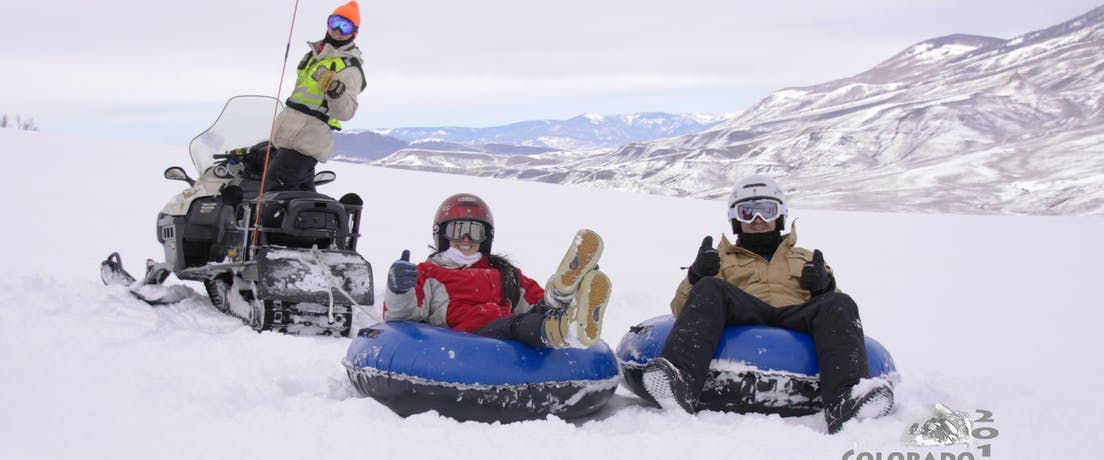 Colorado Snowmobile Tours | Snow Tubing | Unguided Rentals