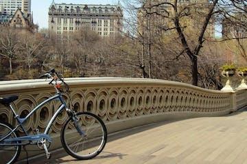 bike on a bridge