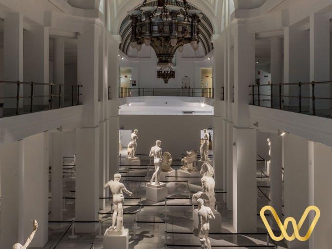 Una de las tantas salas gratis en Madrid
