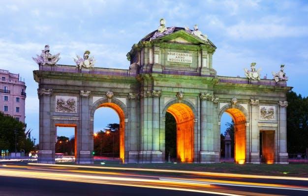 Corners of the Spanish capital full of symbols