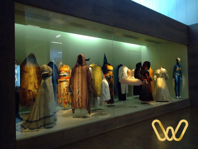 The costumes are also part of the most curious museums in Madridr