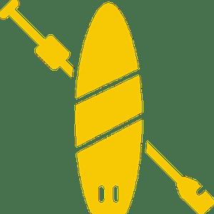 paddle board icon
