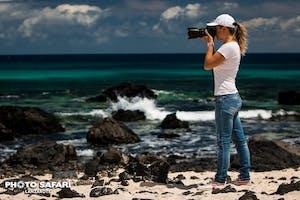 Photographer La Caleta blanca Lanzarote