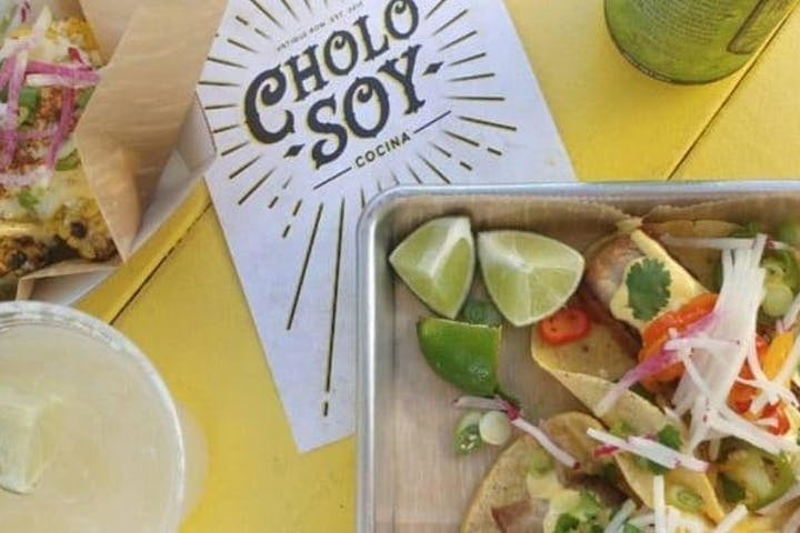photo of cholo soy package