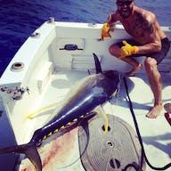 Huge tuna catch on a Bite Me Fishing Charter