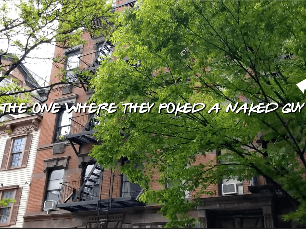 a tree in front of a building