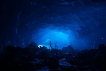 Heli Ice Cave Tour