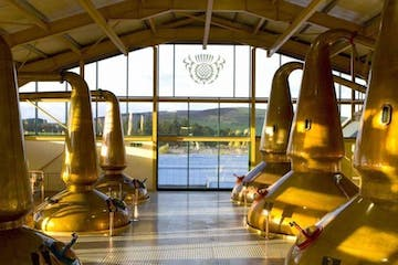 Whiskey distillery in Speyside
