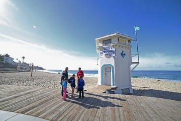 Lifeguard-Tower-in-Laguna-Beach