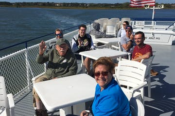Participants of St Augustine Boat and Walking Tour