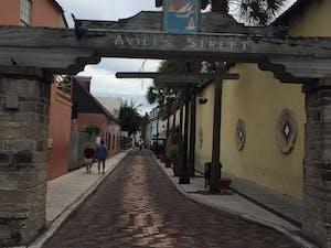 Aviles Street, St Augustine Florida