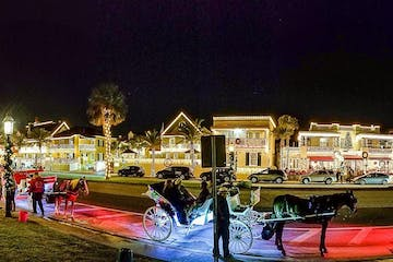 Nights of Lights in St Augustine Florida