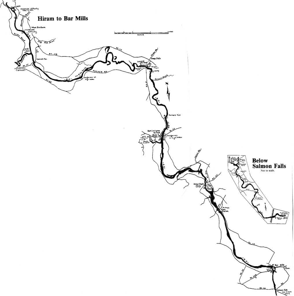 saco river maine map Directions Maps Saco Bound
