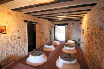 room of an olive oil mill