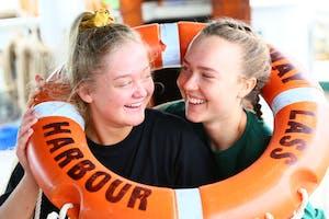 Explore Whitsundays - School Group pair on Solway Lass