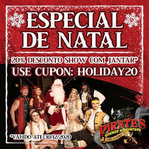 Oferta de Natal Piratas Orlando